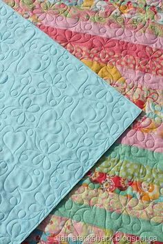 Minkey quilting tips