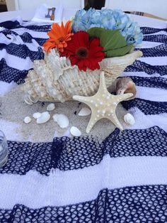 Beach Themed Table Decorations