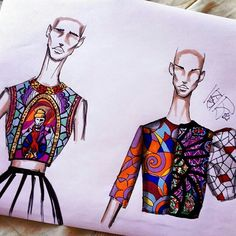 4 Factors to Consider when Shopping for African Fashion – Designer Fashion Tips Fashion Design Portfolio, Fashion Design Drawings, Fashion Sketches, Moda Animal, Croquis Fashion, Fashion Illustration Dresses, Fashion Figures, Fashion Sketchbook, Designs To Draw