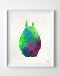 Totoro, My Neighbor Totoro Type 1 Print