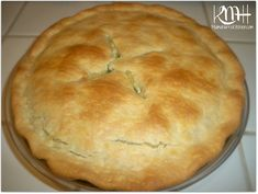 Chicken Pot Pie made with Pillsbury Pie Crusts - Mama Harris Kitchen I Love Food, Good Food, Yummy Food, Fun Food, Empanadas, Quiche, Food Dishes, Main Dishes, Side Dishes
