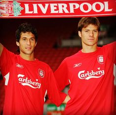On this day in 2004 Luis Garcia and Xabi Alonso signed for Liverpool
