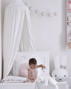 The Star Garland has six beautiful sparkling stars ready to change your child's room to a kingdom! It's the perfect decoration for any child's room. Star Garland, Childrens Room Decor, Kidsroom, Canopy, Your Child, Toddler Bed, Nursery, Interior, Sparkling Stars