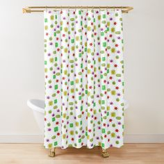 'Corona for kids' Shower Curtain by Jardingnomes Curtains, Printed, Awesome, Shopping, Art, Products, Art Background, Blinds, Kunst