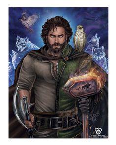 """Perrin Aybara, Wolf King"" Poster"