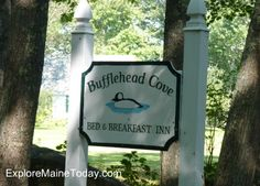 The Bufflehead Cove Inn at 18 Bufflehead Cove Lane is an exquisite bed and breakfast in Kennebunk Maine that offers tranquility, relaxation and a good serving of romance.
