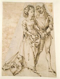 Lovers    Albrecht Dürer.   Hamburger Kunsthalle, Hamburg, Germany