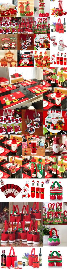 Christmas Gift Ideas: Santa Pants Christmas Candy Bags Wine Stocking Bottle Gift Bag Xmas Decoration -> BUY IT NOW ONLY: $7.29 on eBay!