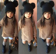 Cute baby girl clothes outfits ideas 95 Source by girl clothes Cute Baby Girl Outfits, Toddler Girl Outfits, Toddler Fashion, Kids Fashion, Fall Fashion, Fashion Trends, Pinterest Cute, Outfits Niños, Little Fashionista