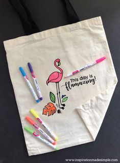 DIY Flamingo Colorin