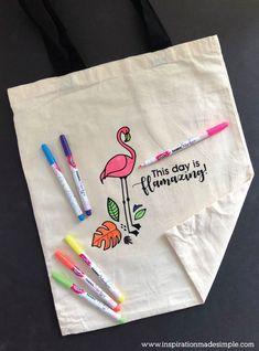 DIY Flamingo Colorin