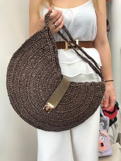 Greek Design, Yarn Bag, Embroidery Bags, Unique Bags, Handmade Items, Handmade Gifts, Cosmetic Case, Fashion Bags, Gifts For Women