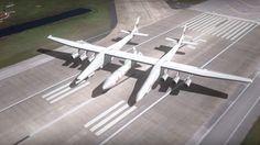 """Plane with """"Football Field Length Wingspan"""" Almost Ready To Fly Almost Ready, Football Field, Commercial Aircraft, Aircraft Design, Space Travel, Military Aircraft, Plane, Campaign, Futurism"""