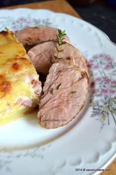 Muschiulet de porc (24) Tasty, Yummy Food, Steak, Food And Drink, Easy Meals, Cooking Recipes, Pork, Delicious Food