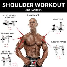 HIGH VOLUME SHOULDER WORKOUT ⠀⠀⠀⠀⠀⠀ No matter how big your arms, chest, or back are…an upper body just isn't complete without well-developed shoulders. ⠀⠀⠀⠀⠀⠀ It's very important to develop all three heads of this muscle, because if one part is lagging, it will show. ⠀⠀⠀⠀⠀⠀ Shoulders can benefit from higherRead More →
