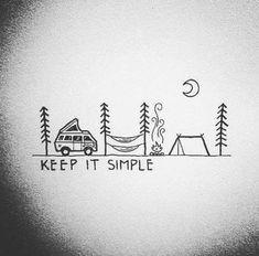 Inspiration Writing + Planning, Marie Klamer, Writing + Planning Inspiration Source by . Diy Tattoo, Stylo Art, Illustration Inspiration, Camping Life, Diy Camping, Camping Ideas, Outdoor Camping, Great Tattoos, Keep It Simple
