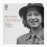 Sello: Birthday (Gibraltar) Birthday of Queen Elizabeth II) Mi:GI 1673 Santa Lucia, Princess Elizabeth, Queen Elizabeth Ii, Queen 90th Birthday, Isabel Ii, Famous Faces, British Royals, Great Britain, Belize