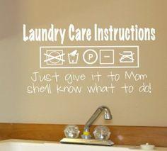 stickers laundry room - Google zoeken
