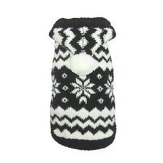 Hip Doggie Super Soft Snowflake Sweater for Dogs - Clothing & Accessories - Dog - PetSmart  Maybe a nice Xmas sweater?