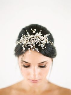 beautiful headpiece headpiece from the Gilded Shadows bridal headpieces collection http://www.trendybride.net/gilded-shadows-bridal-headpieces/