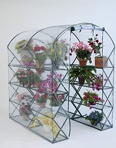 Ship from USA FlowerHouse Harvest House Pro XUp Portable Greenhouse with Integrated Shelves ITEM NO8YIFW81854215473 >>> Click image to review more details.
