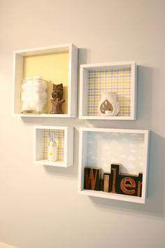 Easy to do box shelves