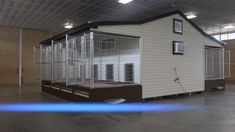 Elite Commercial Dog Kennel A closer look into the commercial dog kennel. This kennel is the perfect solution for raising multiple dogs in great conditions. Custom Dog Kennel, Dog Kennel Designs, Build A Dog House, Building A Dog Kennel, Dog Kennel And Run, Puppy Kennel, Large Dog House, Diy Dog Kennel, Dog Boarding Kennels