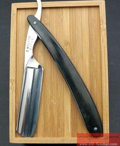 I. Boland Liege  Rasiermesser ,straight razor, coupe choux,