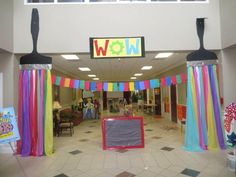 Welcome to WOW! What an entrance! First Presbterian, Orangeburg, SC www.cokesburyvbs.com