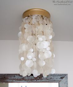 BAN THOSE BOOB LIGHTS! 2 DIY Tutorials to get the cleavage off your ceiling and swap those basic builder grade flushmounts for STUNNERS...NO TOOLS NEEDED!!