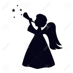 Christmas Angel Isolated On White Background Royalty Free Cliparts, Vectors, And Stock Illustration. Pic 15968467.