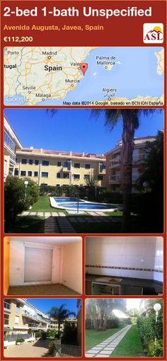 2-bed 1-bath Unspecified in Avenida Augusta, Javea, Spain ►€112,200 #PropertyForSaleInSpain