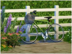 The Sims 4 | Severinka_'s Bicycles | buy mode new objects misc outdoor deco