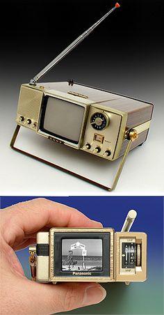 vintage transistor television