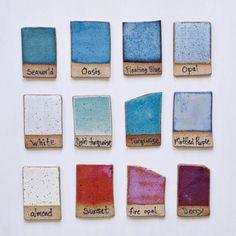 colours ceramic