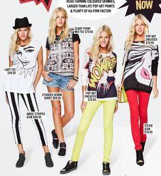 pop art fashion | Pop Art + Fashion = Genius! |