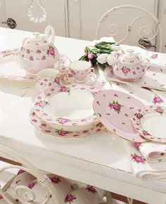 Servizio piatti royal_albert new_country_rose_pink