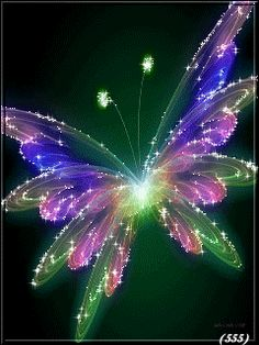 GIF - Butterfly Sparkles