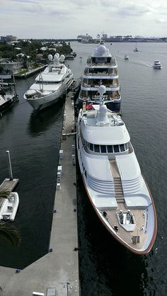 Super Yachts in Lauderdale