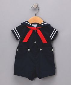 Sailor suit - all three of my boys wore one, then one of them joined the Navy for real!