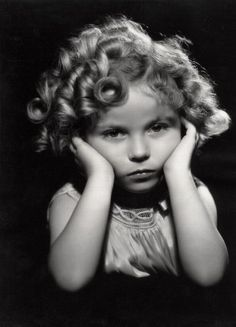 Shirley Temple - I love this image is so counter to the personality she portrayed.
