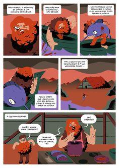 """""""Njord, o Mais ou Menos Irascível"""" (with Afonso Ferreira) page #2"""