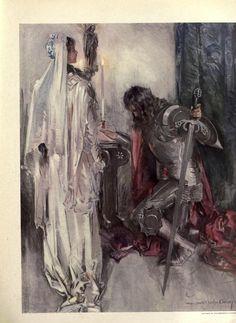 Howard Chandler Christy (1872 – 1952, American)  The Princess ..