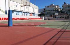 ΑΝΑΒΑΘΜΙΣΗ ΤΟΥ ΑΝΟΙΧΤΟΥ ΓΗΠΕΔΟΥ ΤΟΥ ΑΓΙΟΥ ΒΑΣΙΛΕΙΟΥ - ΓΙΑΝΝΗΣ ΜΑΘΑΣ Tennis, Basketball Court