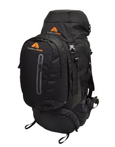 Guerrilla Packs Gladiator Internal Frame Backpack, Black * Hurry! Check out this great item : backpacking packs