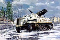 Panzerwerfer Maultier, de Roden