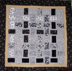 SPLICE Modern Quilt Pattern from Quilts by by carolinasquirrell, $8.00