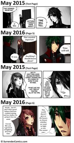 Ransomed Wings: Then vs. Now | Surrender Comics on Patreon