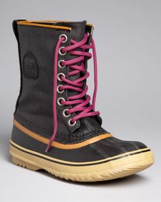 Sorel Lace Up Cold Weather Boots - 1964 Premium