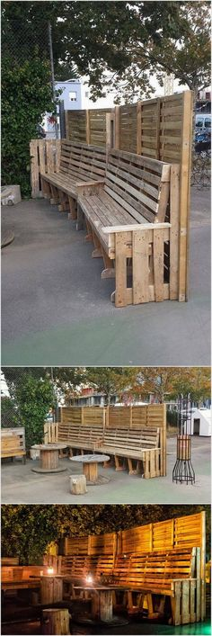 Wood Pallet Outdoor Project